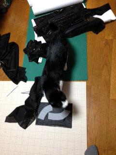 ドレスの邪魔猫 考える-1.jpg